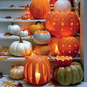 Classy Pumpkin Patterns from Southern Living
