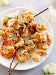 "Chile Lime Shrimp from ""Fork Knife Swoon"""