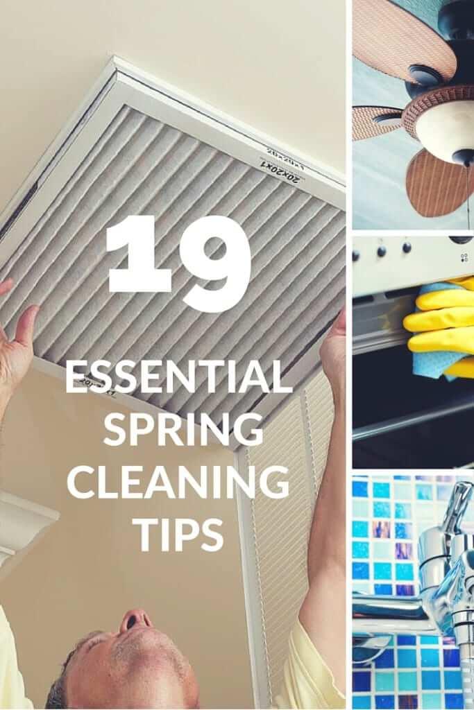 19 Essential Spring Cleaning Tips | Carpe Diem Cleaning