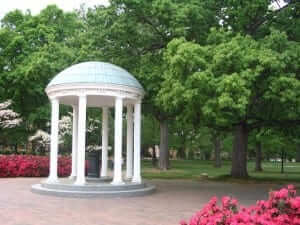 Chapel Hill North Carolina | UNC | Old Well | Seth Ilys