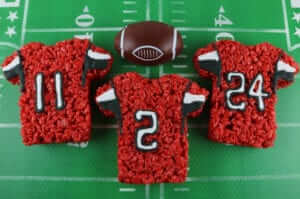 Falcons Rice Krispie Treats