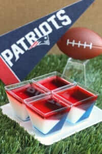 Patriots Jell-O shots